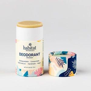 NWT Vegan Zero Waste Habitat Botanicals Deodorant
